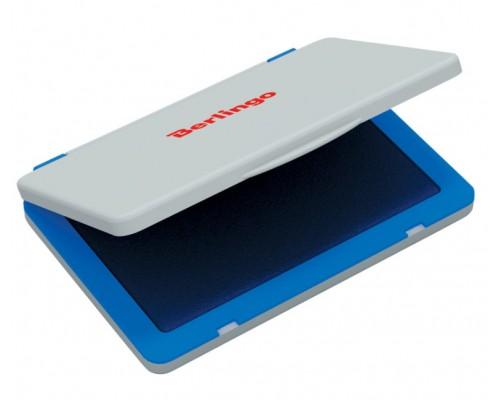 Штемпельная подушка Berlingo 120*90мм синяя