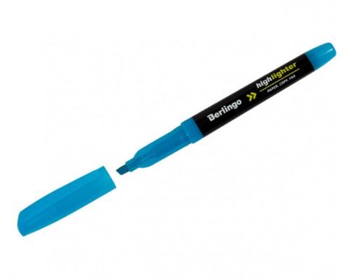 Текстовыделитель Berlingo 0,5-4мм голубой Т8015