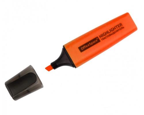 Текстовыделитель Спейс 1-5мм оранжевый