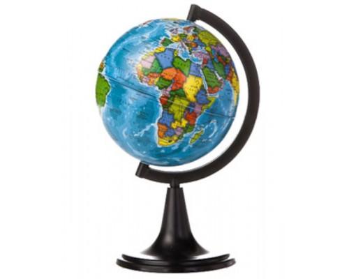 Глобус политический d=120мм классик черная пл.подставка