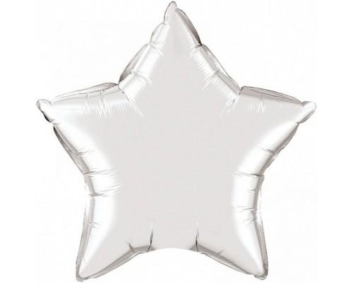 Шар фольга звезда 18