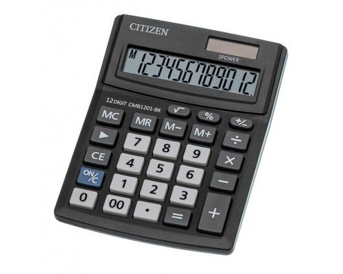 Калькулятор Citizen 12-разряд.Business Line 100*136мм настольный дв.питание CMB1201BK