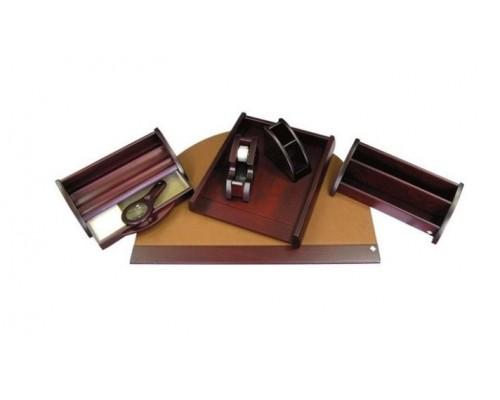 Набор настольный Protege из дерева Empereur 7пр красно-коричневый 890240