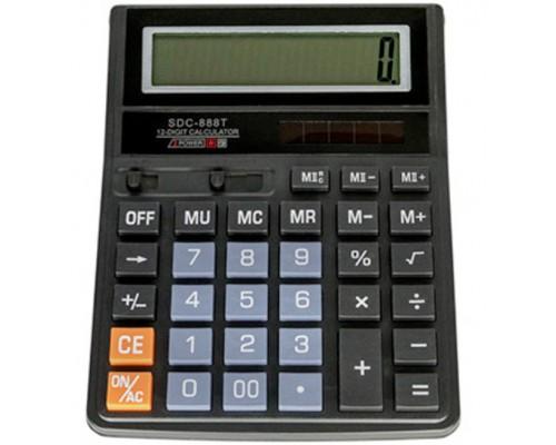Калькулятор 12-разряд.SDC-888T 20,6*16,4*3см