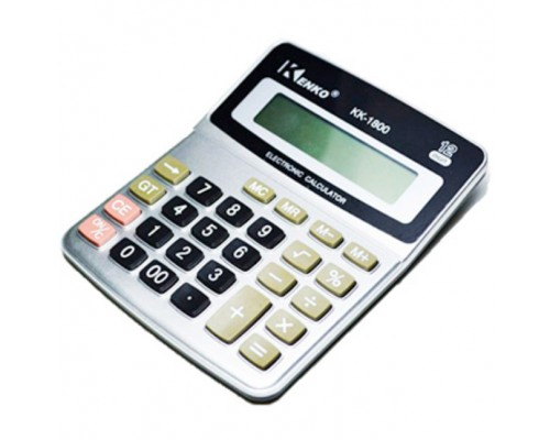 Калькулятор 12-разряд.КК-1800 13,5*10,5см