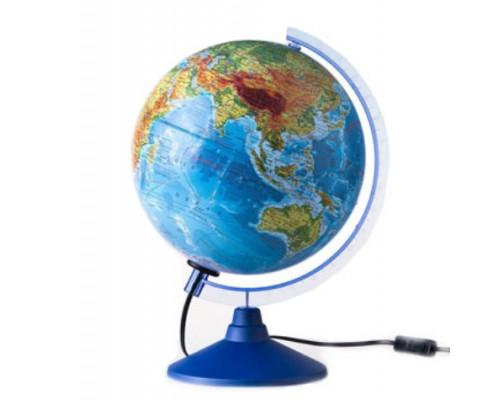 Глобус физический d=150мм евро с подсветкой