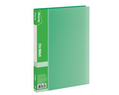 Папка-скоросшиватель Berlingo Diamond 17мм 700мкм п-пр зеленая