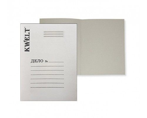 Папка Дело 360г/м2 картон немелов Kwelt К-000045