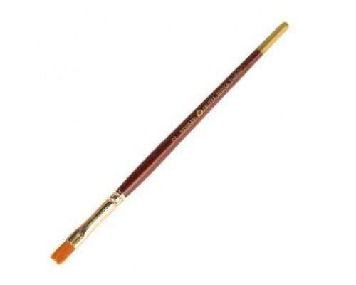 Кисть Декола синтетика №2 плоская 6,5мм
