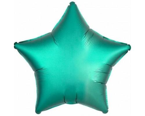 Шар фольга звезда 19
