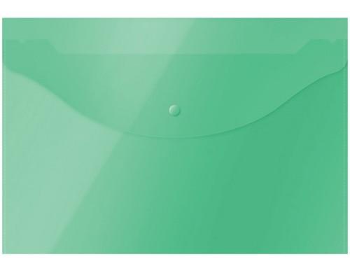 Папка-конверт А4 Спейс 120мк зеленая