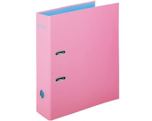 Папка-регистратор 80мм Berlingo Haze 80мм матовая ламинированная розовая