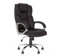 Кресло Морфео CHR68 ECO-30 Черное кожзам