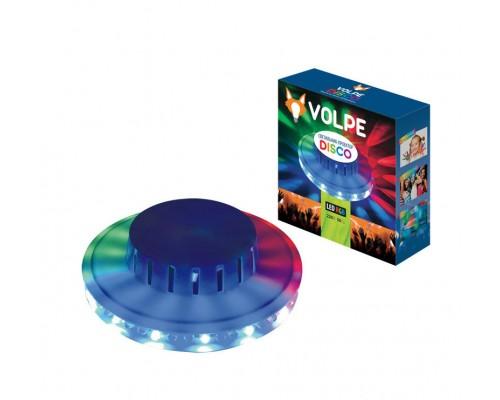 Светильник-проектор Volpe Disco проэция круговая d=13см