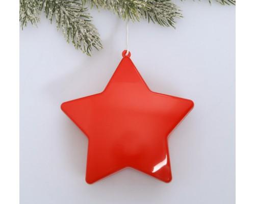 Ёлочные украшения Звезда красная 4625690