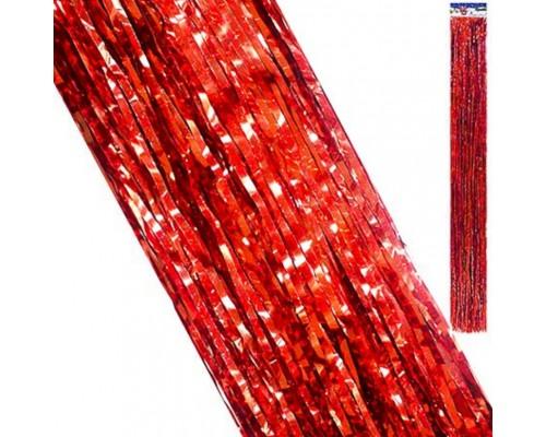 Дождик Kwelt 9,5*96см красный К-06428