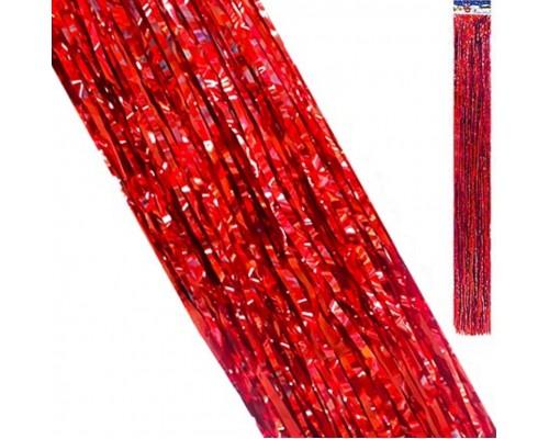 Дождик Kwelt 9,5*145см красный К-06393