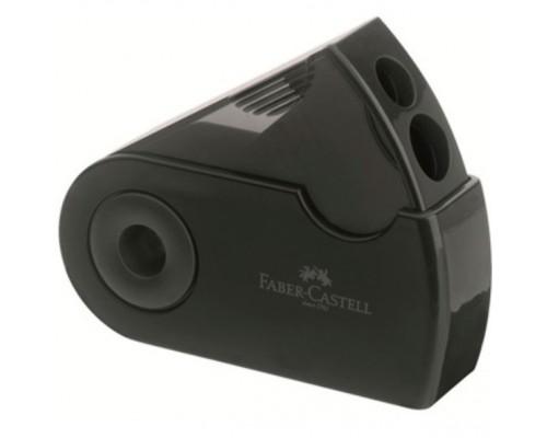 Точилка Faber Castell Sleeve двойная черная