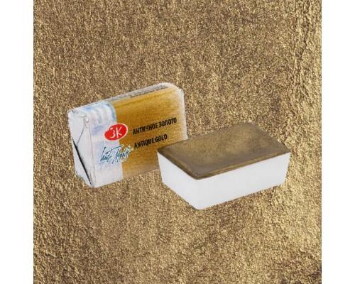 Акварель металлик античное золото кювета 1911981