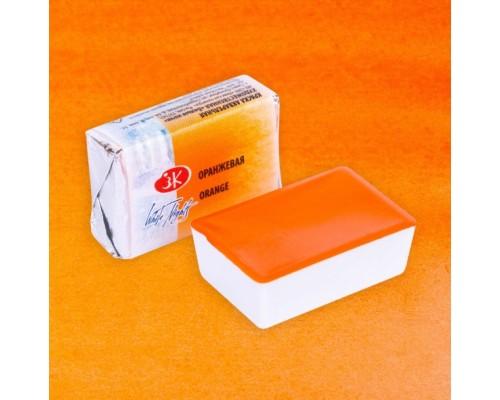 Акварель оранжевая кювета 1911315