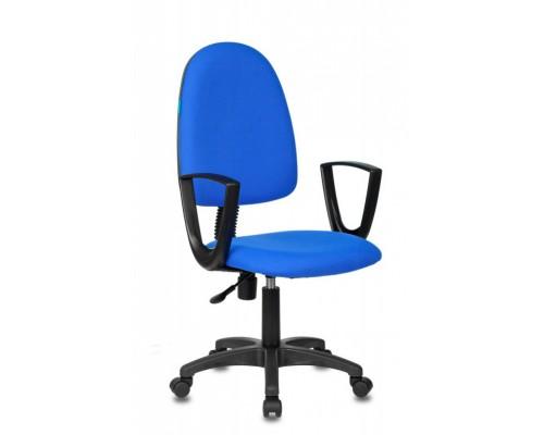 Кресло Бюрократ CH-1300N/3С06 Престиж+ синий крестовина пластик