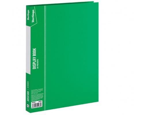 Папка 20 файлов Berlingo 14мм 600мкм зеленая