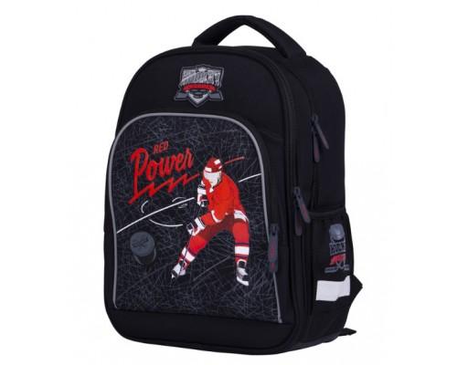 Ранец Berlingo Flash Hockey 37*28*15 2отд 3 кармана анатомич спинка RU05309