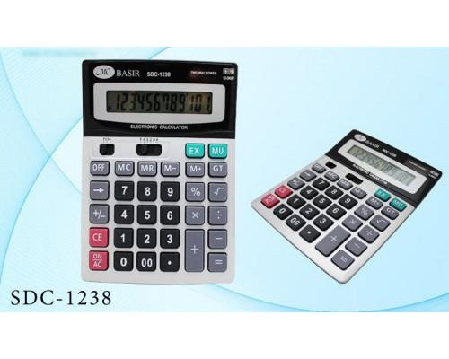 Калькулятор 12-разряд.SDC-1238 18,7*14,6*3,3см