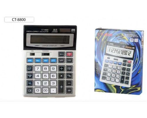Калькулятор 12-разряд.СТ-8800 21,3*15,7см