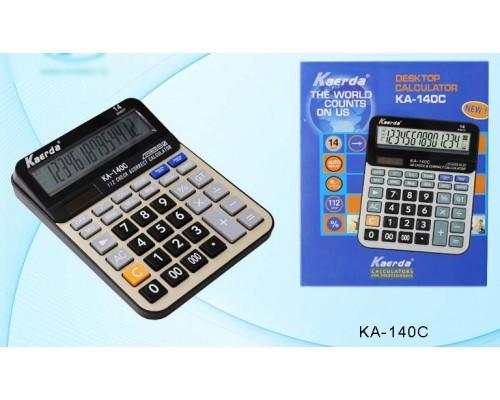 Калькулятор 14-разряд.КА-140С 20,5*15,8см