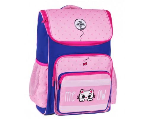 Ранец Спейс Happy School Kitty 39*28*18см 1отд 4 кармана анатомическая спинка Uni_17681