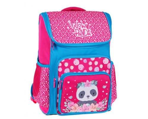Ранец Спейс Happy School Panda 39*28*18см 1отд 4 кармана анатомическая спинка Uni_17682