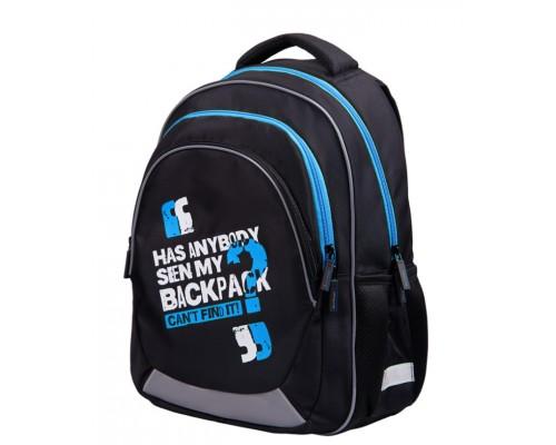 Рюкзак Berlingo Bliss My bag blue 40*29*19см 3отд 2кар анатомич ЭВА спинка RU06921B
