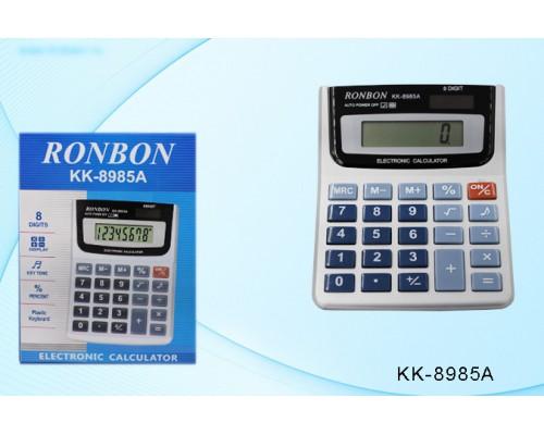 Калькулятор 8-разряд.КК-8985А 12*9см