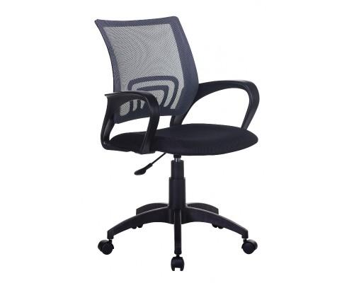Кресло Бюрократ CH-695NLT темно-серый ткань/сетка TW-04/TW-11 крестовина пластик