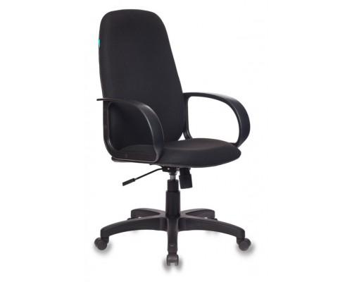 Кресло Бюрократ CH-808AXSN 3С11 черный крестовина пластик