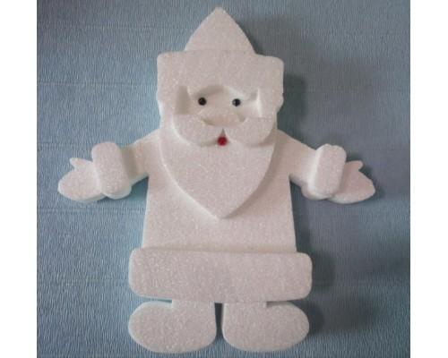 Декор из пенопласта Дедушка Мороз h=25см 04420