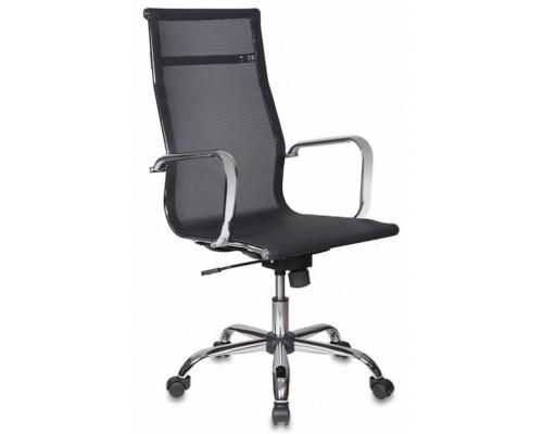 Кресло Бюрократ CH-993 черный М01 сетка крестовина металл хром