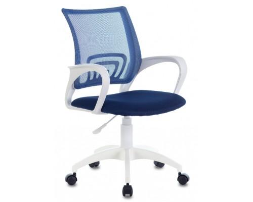 Кресло Бюрократ CH-W695NLT темно-синий TW-05N/TW-10N сетка/ткань крестовина пластик