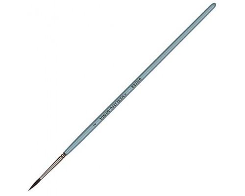 Кисть Vista-Artista белка круглая №4 короткая ручка