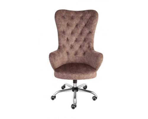 Кресло Алвест AV Carera Brown 164 CH МК ткань