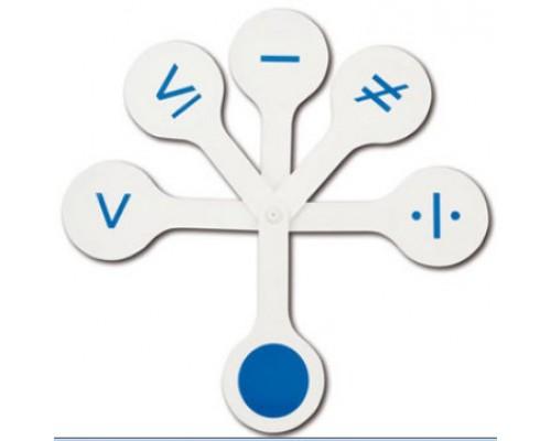 Грамматический веер Стамм Математические знаки ВК06