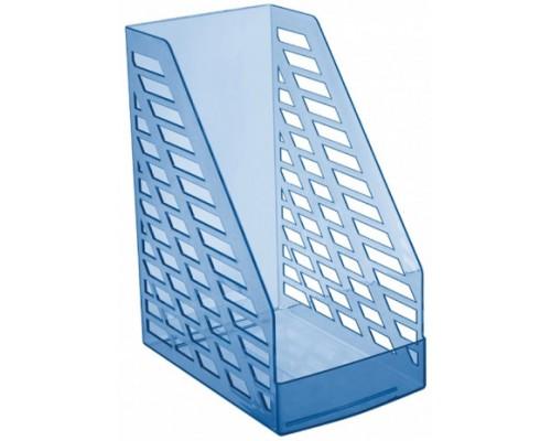 Лоток вертикальный Стамм XXL тонированный голубой ЛТ904