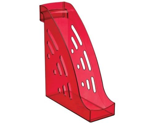 Лоток вертикальный Стамм Торнадо темно-красный ЛТ407
