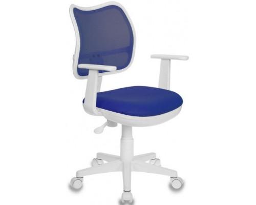 Кресло Бюрократ CH-W797 синий TW-10 сетка/ткань крестовина пластик белый