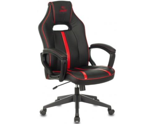 Кресло Бюрократ VIKING ZOMBIE A3 RED черный/красный искуственная кожа