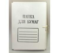 Папка для бумаг с завязками 300г/м Brauberg Standart герб России