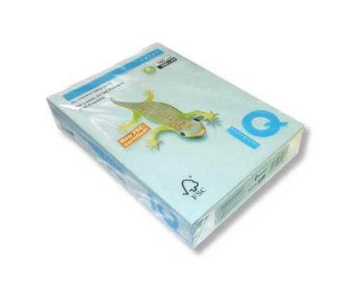 Бумага офисная IQ Color 160г OBL70 А4 250л голубой лед Mondi