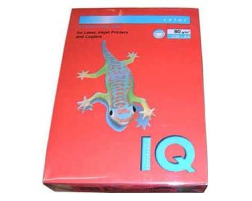 Бумага офисная IQ Color 80г ZR09 А4 500л кирпич-красный Mondi