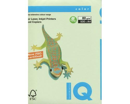 Бумага офисная IQ Color 80г GN27 А4 500л св-зеленый Mondi